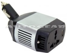 12V to Mains 75w Car Van Mini Power Inverter Adaptor
