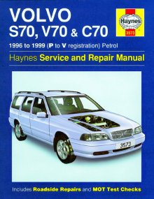 Haynes Repair Service Manual-Volvo S70, V70 and C70 Petrol (96 -
