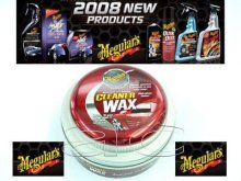 Meguiars Car Cleaner Wax Paste & Applicator Pad