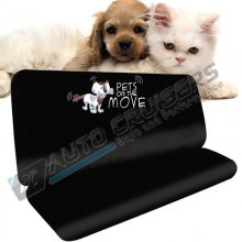 NEW Pets On the Move Dog Cat Car Rear Seat Protector Cover