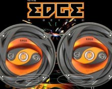 "EDGE ED204 4-WAY 120W 4"" 100mm CAR COAXIAL SPEAKERS"