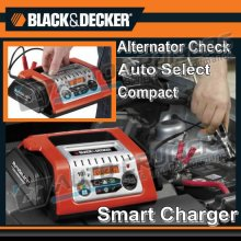 Black & Decker 10A 12v Car Bike Battery Charger