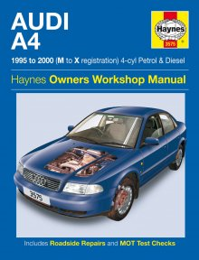 Haynes Repair Service Manual-Audi A4 Petrol and Diesel (95 - 00)