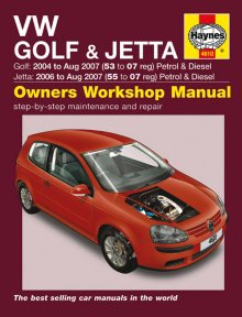 Haynes Repair Service Manual-VW Golf & Jetta Petrol & Diesel (04
