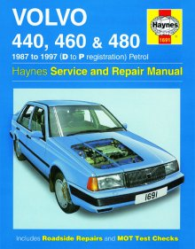 Haynes Repair Service Manual-Volvo 440, 460 and 480 Petrol (87 -
