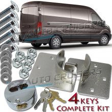 High Security Anti Theft Van Door Shed Garage Hasp Lock