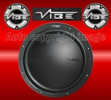 "Vibe Slick S15 15"" inch 1500w Car Sub Bass Subwoofer"