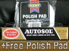 Autosol Chrome, Aluminium, Metal Polish Cleaner & FREE