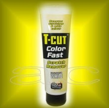 Car Plan T-Cut Color Fast Scratch Remover White 150g