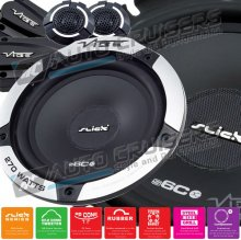 "VIBE Slick 6c Comp 6.5"" inch Component 540w Car Speakers"