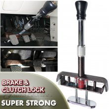 Car Van Brake Clutch Pedal Anti Theft Adjustable Strong Security