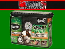 Slime Emergency Car Tyre Tire Smart Repair Inflator Kit