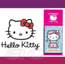 Hello Kitty 2D Blue Lemon Fragrance Car Air Freshener