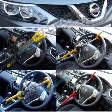 Universal High Security Double Claw Hook Steering Wheel Lock