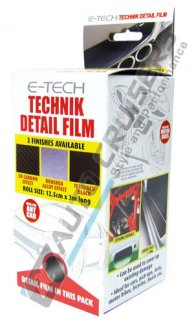 E-TECH Technik Textured Carbon Sills Bumper Edge Protector Strip