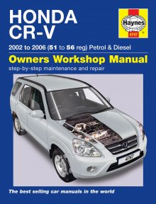 Haynes Repair Service Manual-Honda CR-V Petrol & Diesel 4747