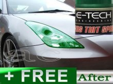 Lens Repeaters Tail Light Green Tinting Tint Spray Paint + FREE