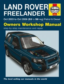Haynes Repair Service Manual-Land Rover Freelander Petrol & Dies