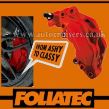 Foliatec Brake Caliper Engine Paint Matt Red Lacquer High Temp