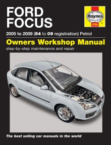 Haynes Repair Service Manual-Ford Focus Petrol (05 -09) 54 to 09