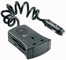 Ring MP:120 12V Car Compact Inverter USB 120W 240V + FR