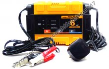 Car Van Bike 12v 6 Amp Smart Automatic Battery Charger