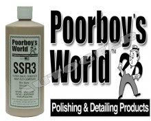 Poorboys World SSR3 Super Swirl Remover Heavy Duty Com