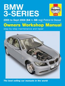 Haynes Repair Service Manual-BMW 3-Series petrol & diesel