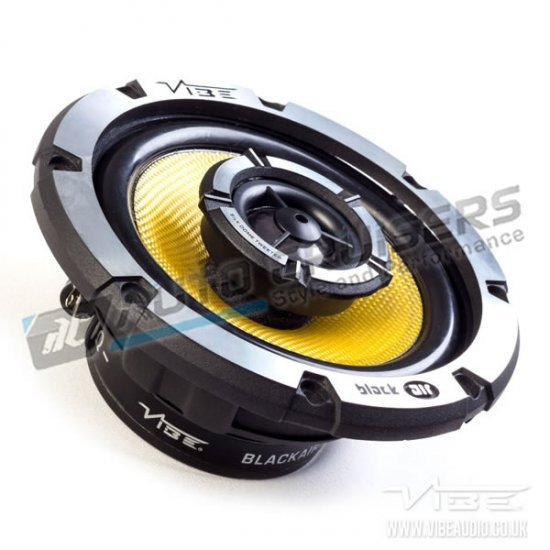 Vibe BA5-V1 BlackAir 5 5.25 240W Car Coaxial Speakers Set - Click Image to Close