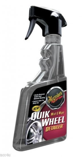 Meguiars Quik Mist & Wipe Car Alloy Wheel Detailer - Click Image to Close