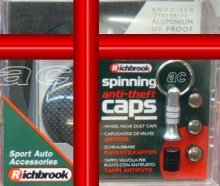 Richbrook Carbon Car Gift Set Poppy Coral+Tax Disc+Caps