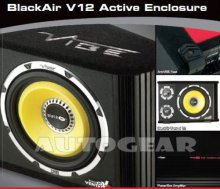 Vibe BlackAir V12 1600w Active Sub Bass Box Enclosure
