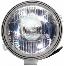 Giant Large Round Halogen Sports Driving Lamps 222mm Clear