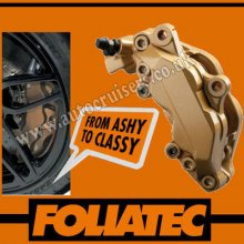 Foliatec Brake Caliper Engine Paint Gold Lacquer High Temp