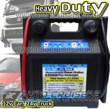 12v Car 24v Truck 44Ah Battery Heavy Duty Jump Starter