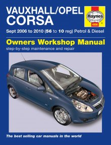 Haynes Repair Service Manual-Vauxhall/Opel Corsa Sept 05-10-4886