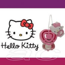 Hello Kitty Hanging Pink Vent Mount Car Air Freshener