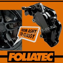 Foliatec Brake Caliper Engine Paint Black Lacquer High Temp