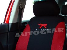 Red Black 13pc Racing Mats,Shoulder Harness Pads,Steering & Car