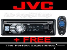 JVC KD-R601 Car Stereo CD MP3 IPOD USB AUX IN Player+FR