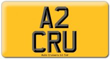 Import Size Car Registraion Number Plates