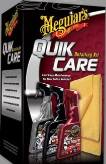 Meguiars Car Quik Care Detailing Detailer Gift Pack Kit