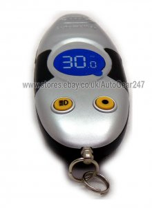 Car Van Motor Bike Caravan Digital Tyre Keyring Gauge