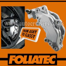 Foliatec Brake Caliper Engine Paint Silver Lacquer High Temp