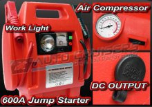 AM-T 12v Car Van Portable Jump Starter Tyre Compressor