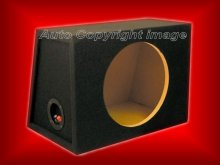 "12"" MDF Carpeted Empty Sub Subwoofer Bass Box Enclosure"