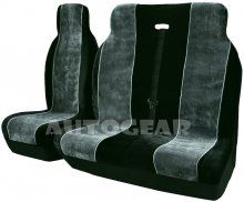 Fabric Suede Velour Airbag Friendly Van Seat Covers 1+2