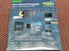 Ring Car Driving Fog Lamps Lights Wiring Fitting Kit