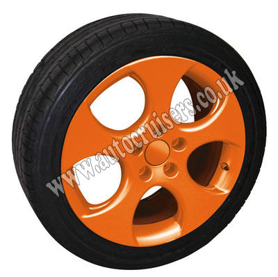 Foliatec Alloy Wheel G Orange Plastic Protective SprayPaint Film - Click Image to Close