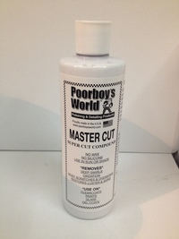 Poorboys World Master Cut Compound